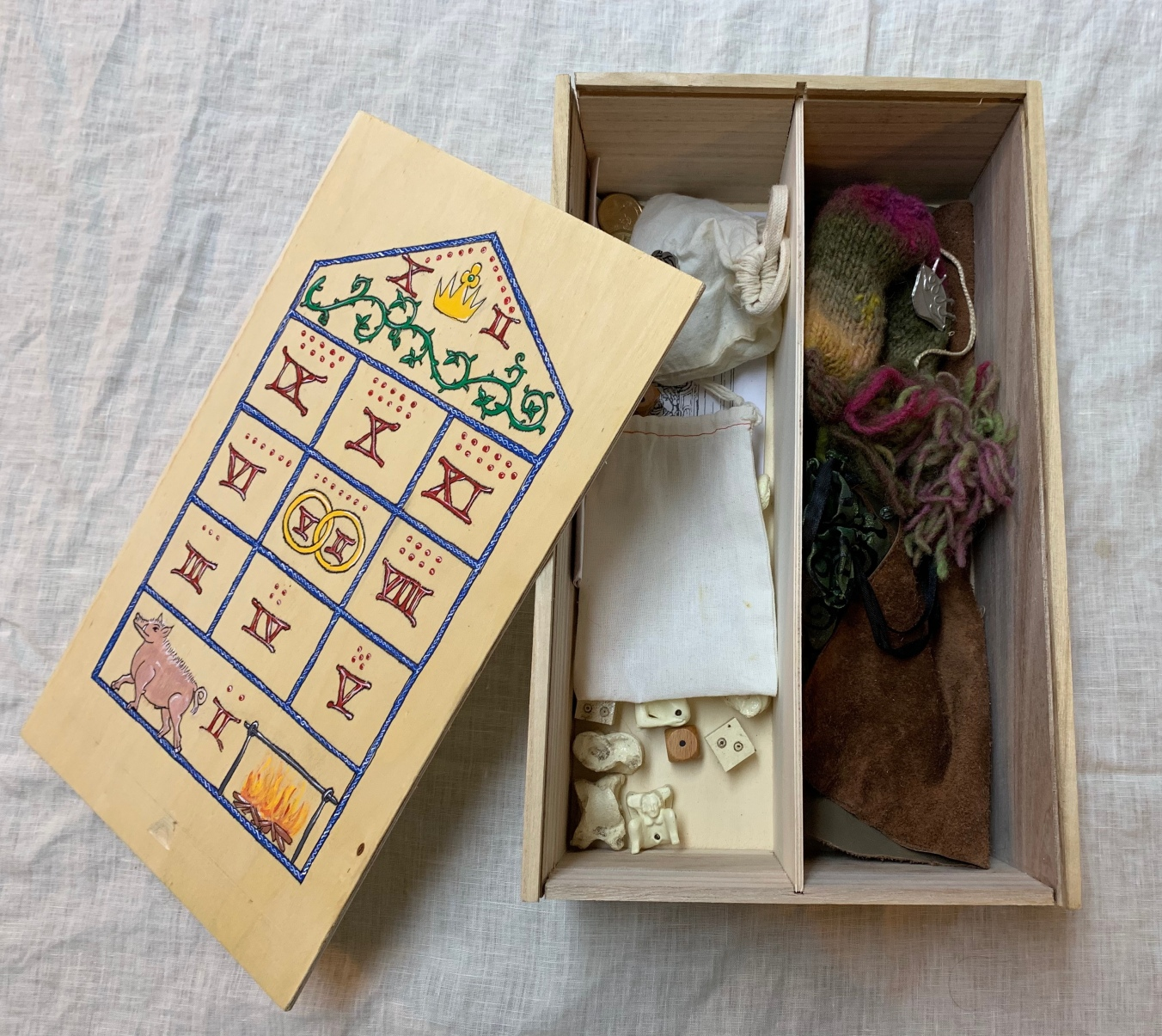 Stocking a Medieval Games Box
